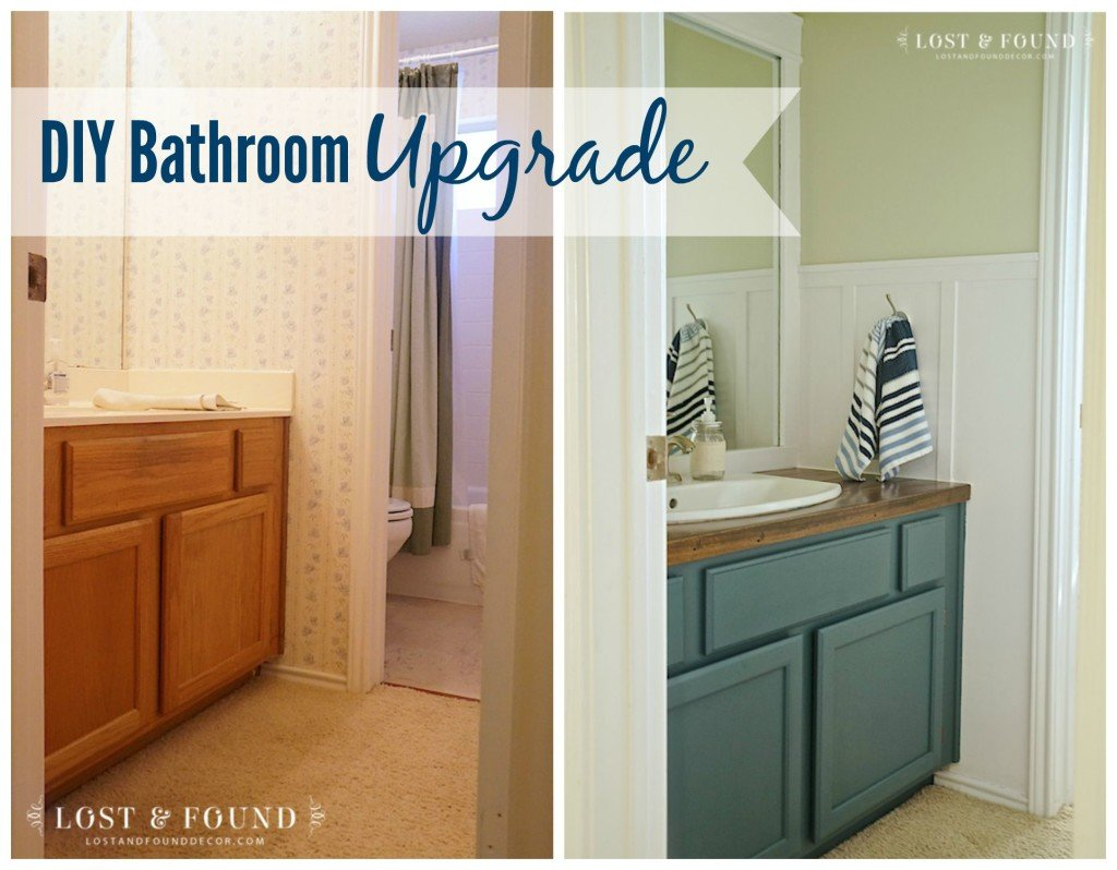 DIY Bathroom Upgrade Reveal
