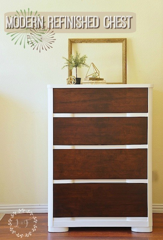 Modern Chest of Drawers Furniture Makeover